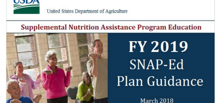 FY19 SNAP-Ed guidance cover